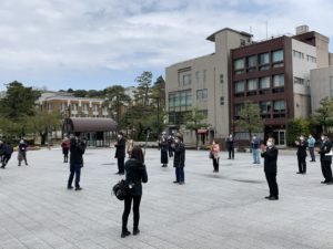 市役所広場写真